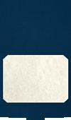 9 1/2 x 12 Star of David Certificate Holders Nautical Blue Linen w/ Silver Foil