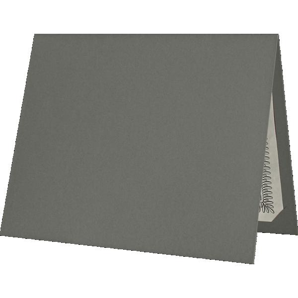 Blank 9 1/2 x 12 Certificate Holders   Smoke   Folders.com