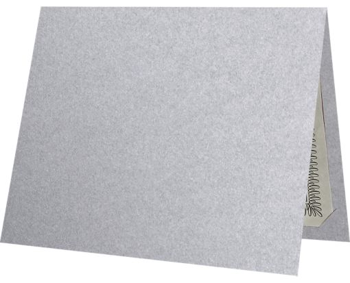 9 1/2 x 12 Certificate Holders Silver Metallic