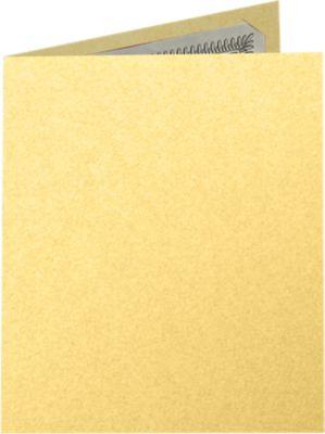 9 1/2 x 12 Certificate Holders Gold Metallic