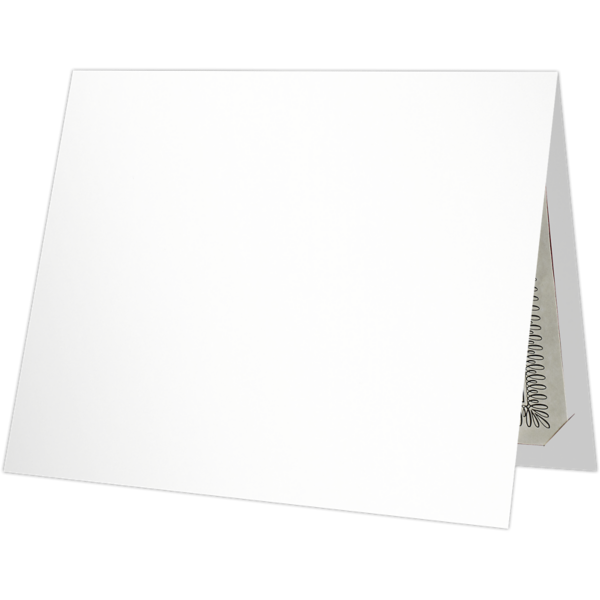 9 1/2 x 12 Certificate Holders Bright White Gloss