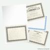 9 1/2 x 12 Certificate Holders Bright White Gloss