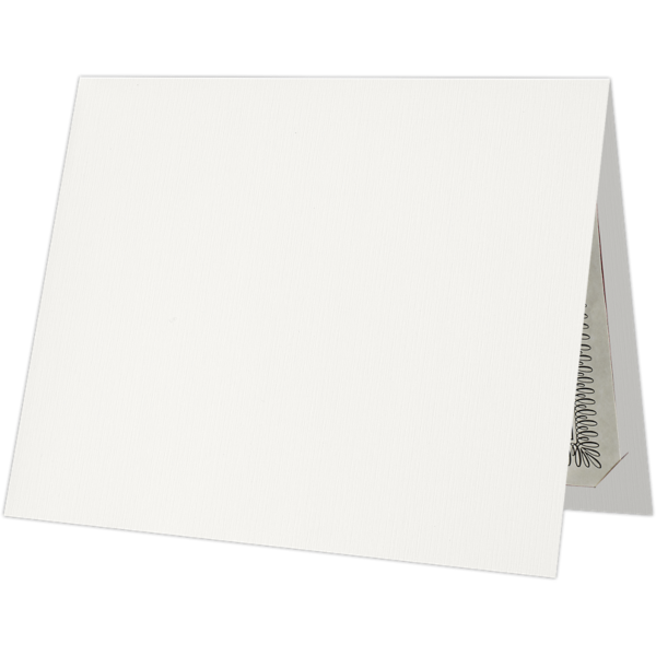 9 1/2 x 12 Certificate Holders White Linen