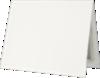 9 1/2 x 12 Certificate Holders White Linen