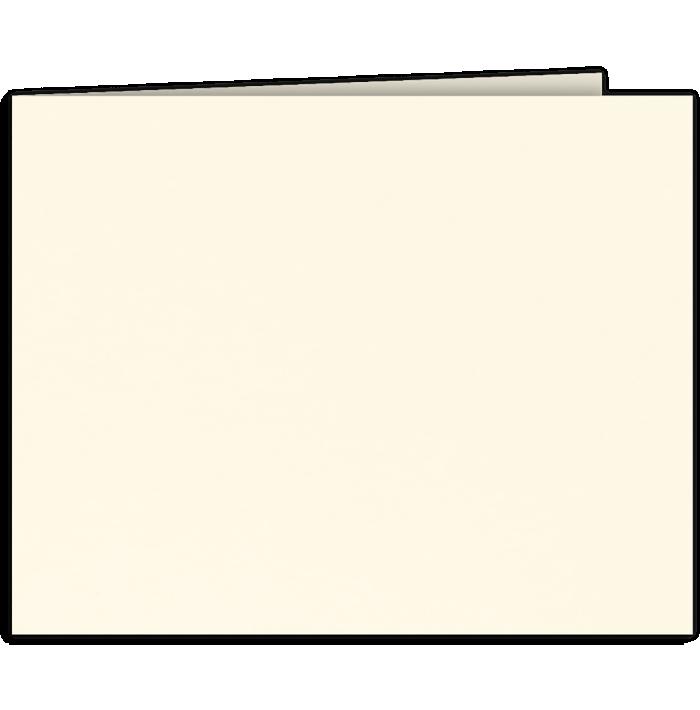 Short Hinge Landscape Certificate Holder Alabaster Natural