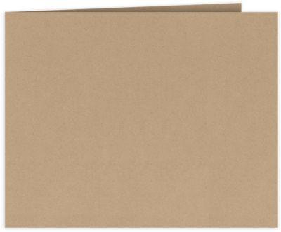 Short Hinge Landscape Certificate Holder Warm Oatmeal