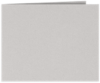 Short Hinge Landscape Certificate Holder Gray Mist