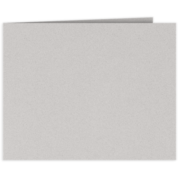 Short Hinge Landscape Certificate Holder Gray Mist