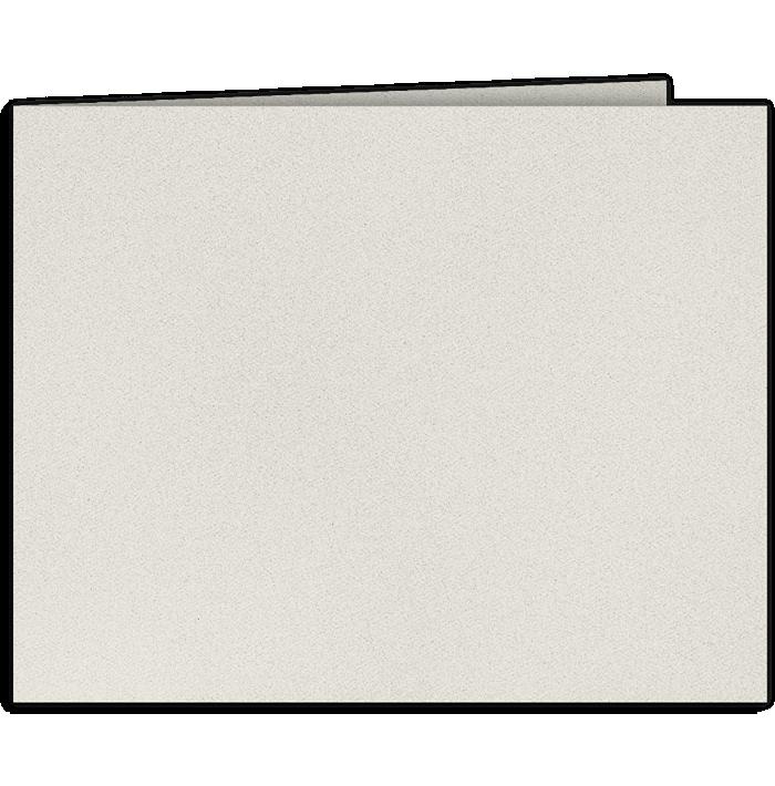 Short Hinge Landscape Certificate Holder Snowstorm Gray