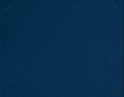 Short Hinge Landscape Certificate Holder Nautical Blue