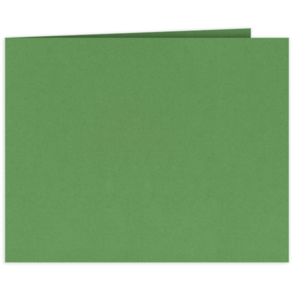 Short Hinge Landscape Certificate Holder Grasshopper Green