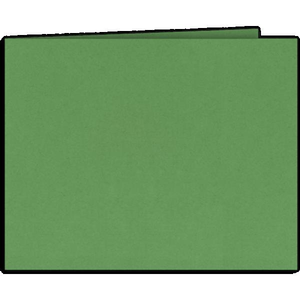 Short Hinge Landscape Certificate Holder Grasshopper Green