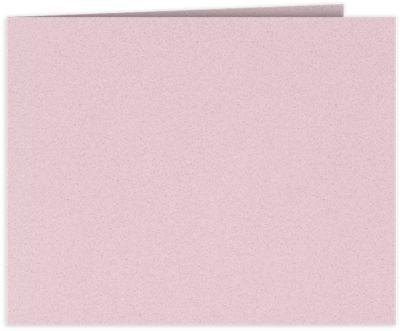 Short Hinge Landscape Certificate Holder Ballet Pink