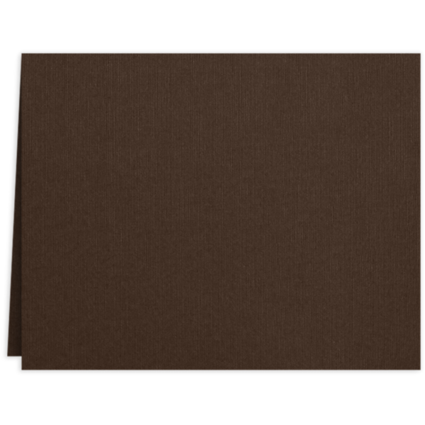 Long Hinge Landscape Certificate Holder Dark Espresso Brown