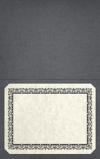 Long Hinge Landscape Certificate Holder Iron Gray