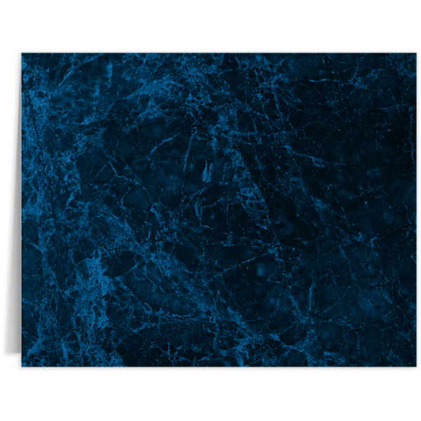 Long Hinge Landscape Certificate Holder Dark Blue Marble