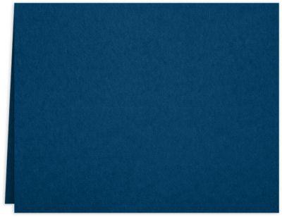 Long Hinge Landscape Certificate Holder Oxford Blue