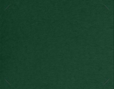 Long Hinge Landscape Certificate Holder Dark Pine Green