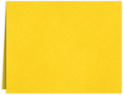 Long Hinge Landscape Certificate Holder Sunshine Yellow