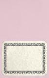 Long Hinge Landscape Certificate Holder Ballet Pink