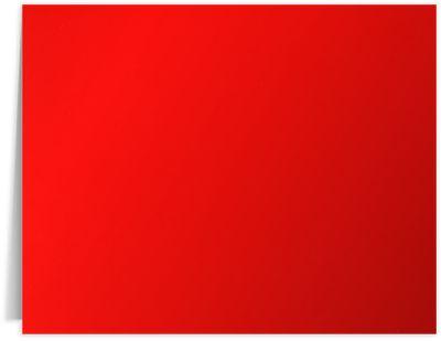Long Hinge Landscape Certificate Holder Cherry Red