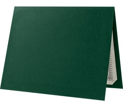 Certificate Holders Green Linen