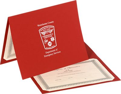Economy Certificate Holder - Landscape Orientation (Horizontal)