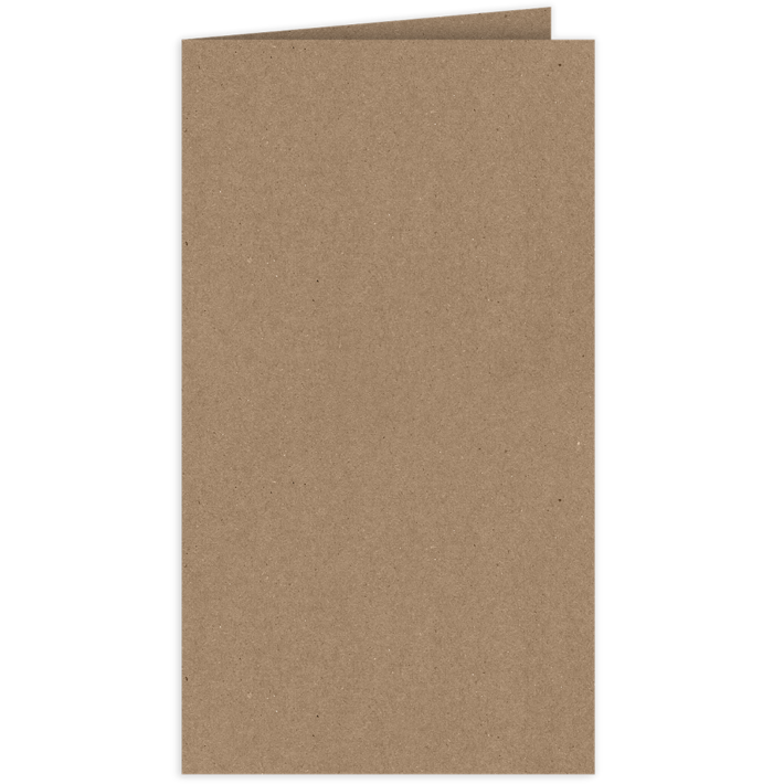 Card Holder Grocery Bag Brown