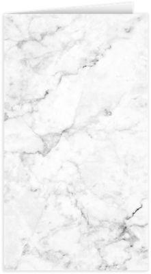 Card Holder White/Gray Marble
