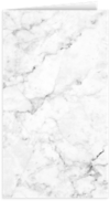 Card Holder White/Gray Marble