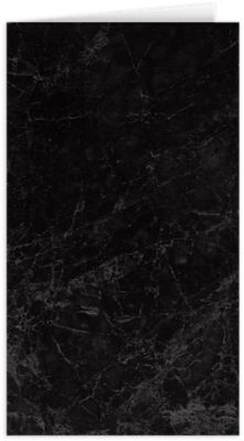 Card Holder Black Marble