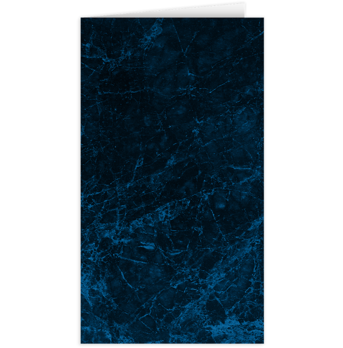 Card Holder Dark Blue Marble