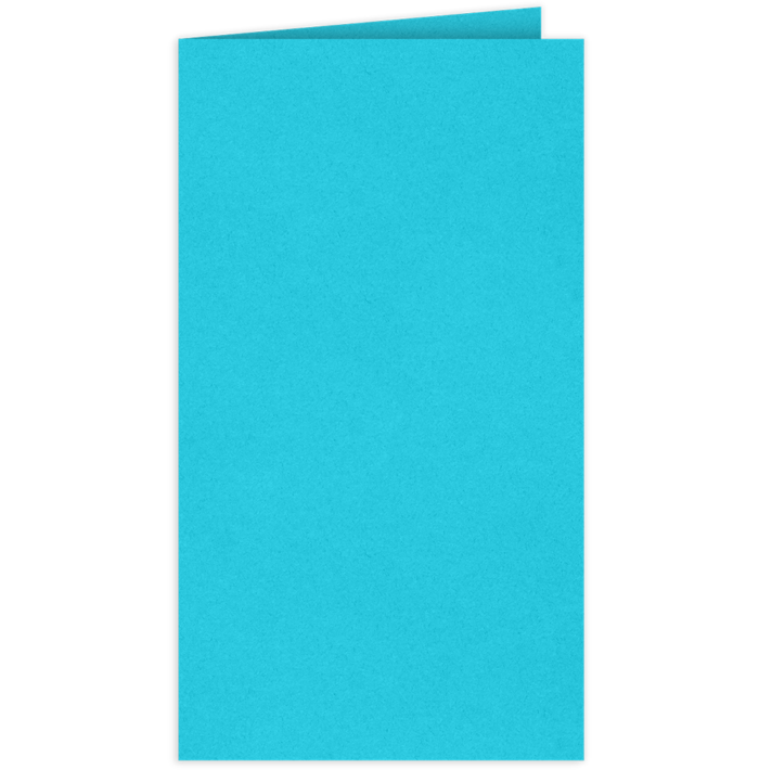 Card Holder Turquoise Blue