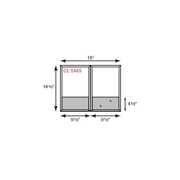 Legal Size CONFORMER® Folders - Standard Two Pocket