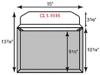 "Legal Size CONFORMER Portfolio - One Pocket (15"" x 10.25"")"