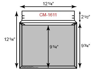 """CONFORMER Mailer - Courier Size (12 1/4"""" x 9 3/4"""")"""