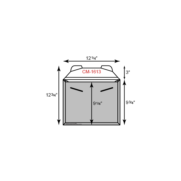 """CONFORMER Mailer - Courier Size w/ Tuck Tab (12 1/4"""" x 9 3/4"""")"""