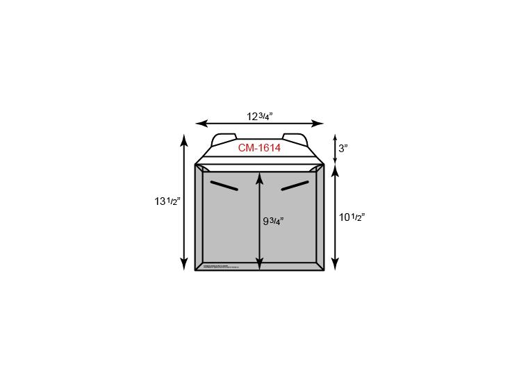 "CONFORMER Mailer - Standard Size w/ Tuck Tab (12 3/4"" x 10 1/2"")"