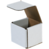 Corrugated Mailers - 3 x 3 x 3 White