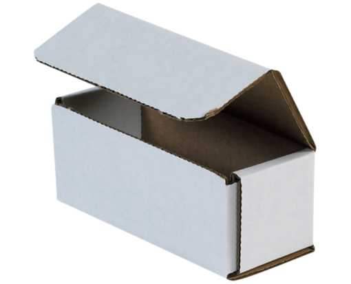 Corrugated Mailers - 5 x 2 x 2 White