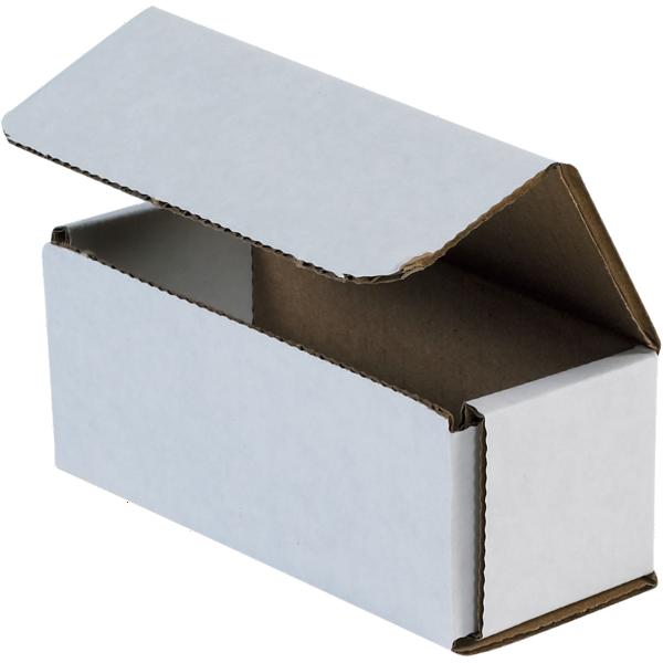 Corrugated Mailers - 5 x 2 x 2 White