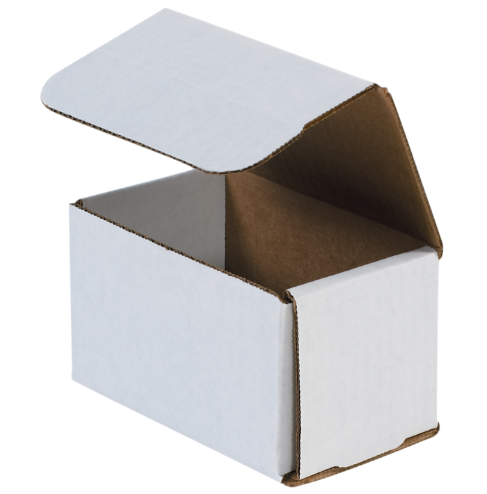 Corrugated Mailers - 5 x 3 x 3 White