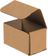 Corrugated Mailers - 5 x 3 x 3 Brown Kraft