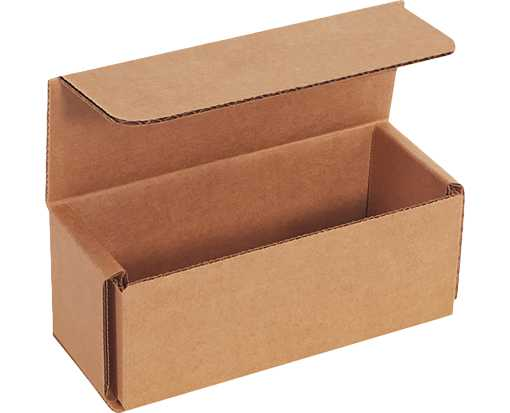 Corrugated Mailers - 5 x 2 x 2 Brown Kraft