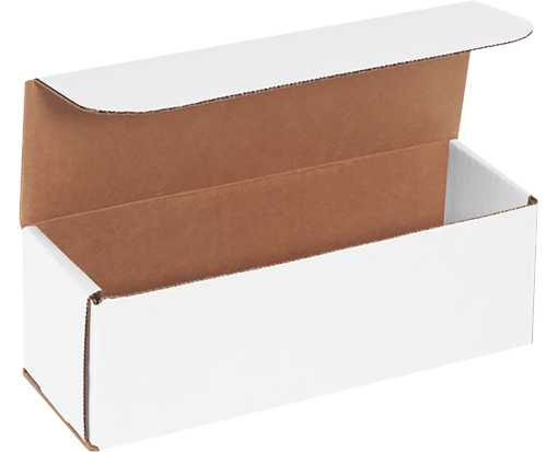 Corrugated Mailers - 9 x 3 x 3 White