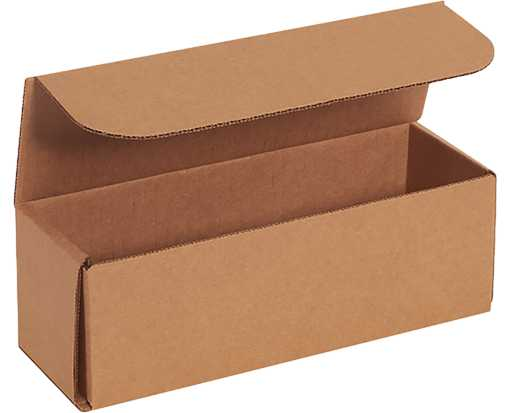 Corrugated Mailers - 9 x 3 x 3 Brown Kraft