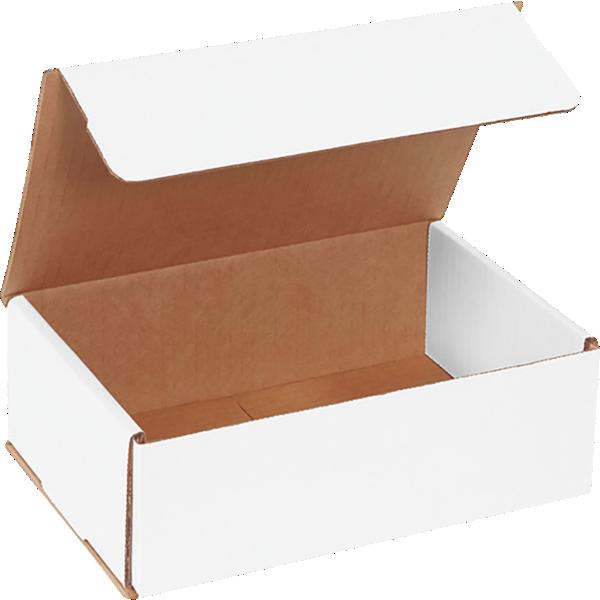 Corrugated Mailers - 9 x 6 x 3 White