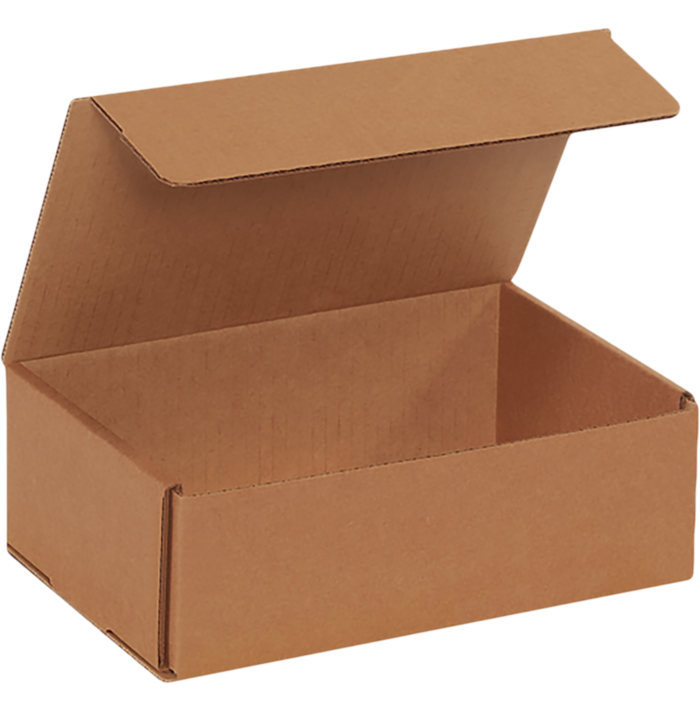 Corrugated Mailers - 9 x 6 x 3 Brown Kraft