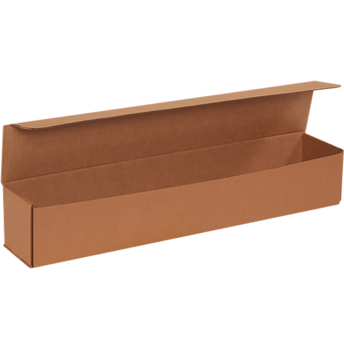 Corrugated Mailers - 24 x 4 x 4 Brown Kraft