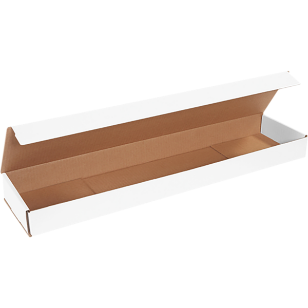 Corrugated Mailers - 26 x 6 x 2 White